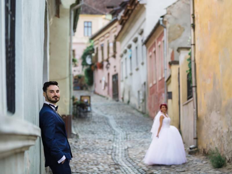 Wedding Photography Sighisoara-Trash the dress RGB Studio