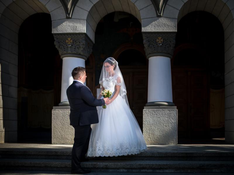 Fotograf nunta Sighisoara-Biserica Sfanta Treime|RGB Studio