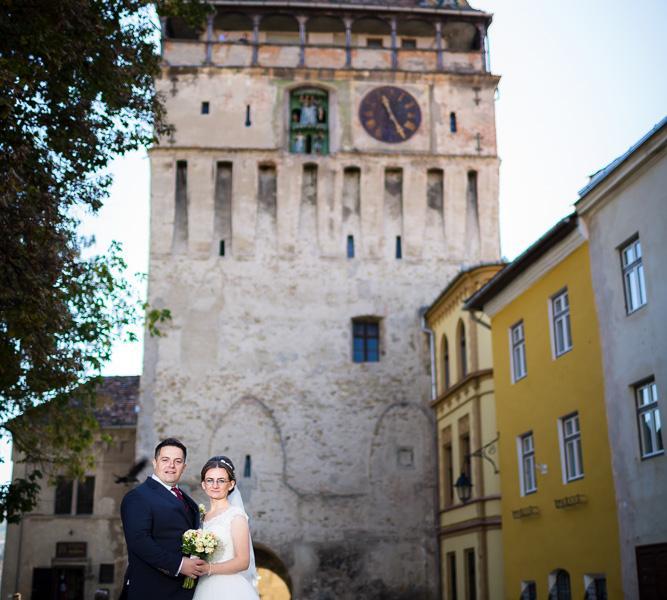 Fotograf nunta Sighisoara-Turnul cu Ceas|RGB Studio