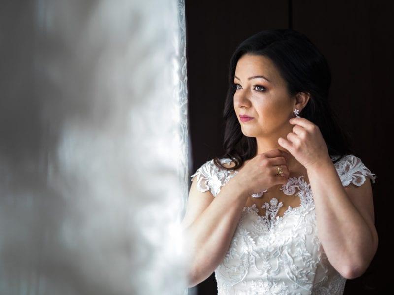Fotograf nunti Sighisoara-Portret mireasa  RGB Studio