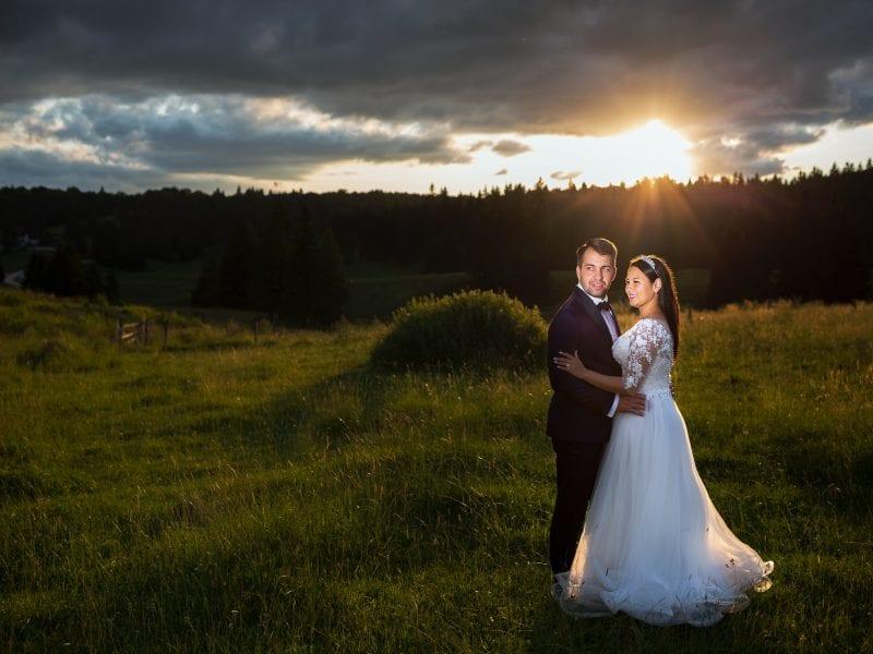 Fotograf nunta Brasov-Apus de soare-Poiana Brasov| RGB Studio